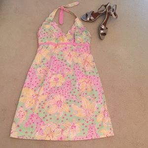 Lilly Pulitzer Halter Sundress